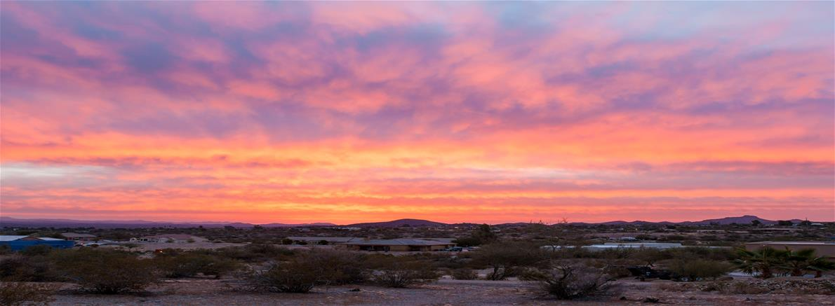 Sunrise Over Wickenburg - Photo by Patty Urlaub