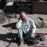 Prisoner Statue at the Jail Tree